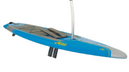 leg powered paddle board