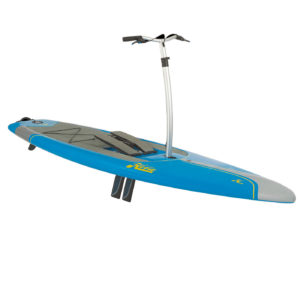 leg powered paddleboard